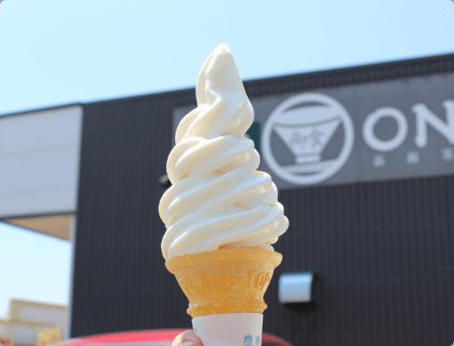 ソフトクリーム(山川牧場)